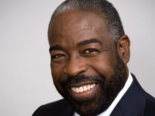 Les Brown, Motivational Speaking Legend ~ If you can look up, you can get up! You have GREATNESS inside of you!